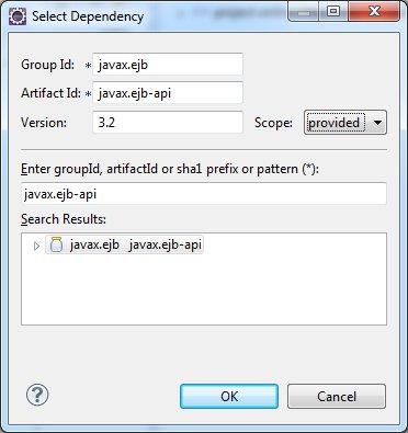 Add EJB Dependency