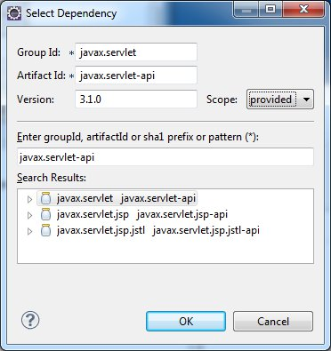 Add Servlet 3.1 Dependency