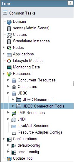 Select JDBC Connction Pools